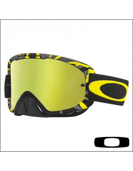 Maschera Oakley O2 Intimidator Yellow / 24K Iridium
