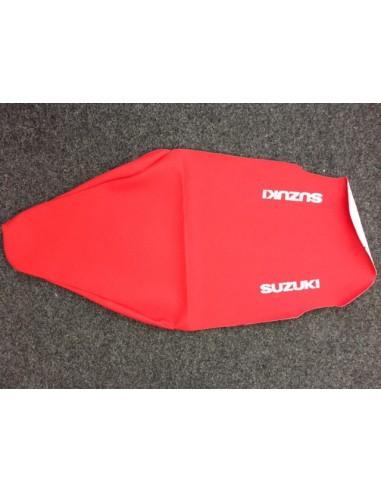 Copertina sella Suzuki RM 125 01-12 rossa