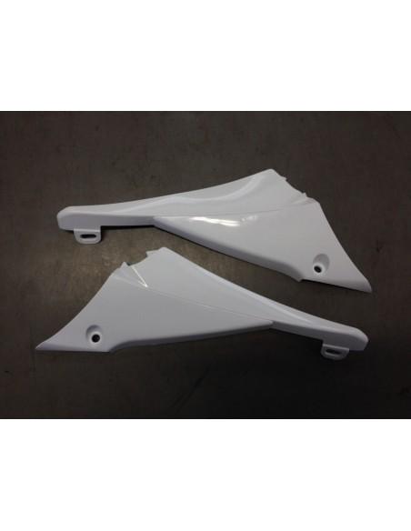 Raccordo convogliaotori-fiancatine laterali YZF450 10-13 bianco
