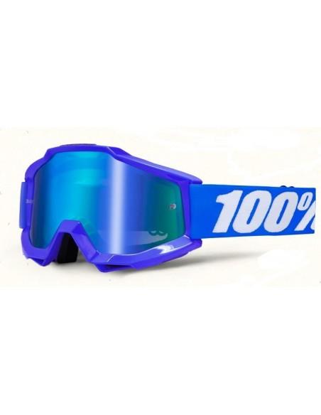 Occhiale 100% Accuri Reflex Blue
