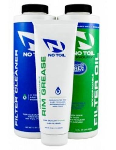 Kit Bio NoToil Detergente+olio filtro+grasso