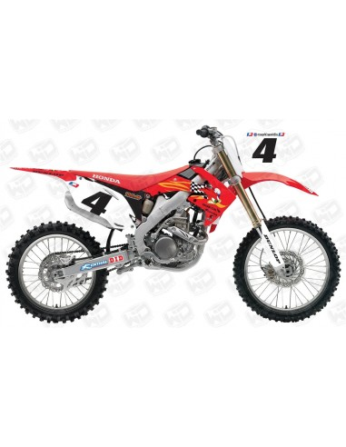 Graphics Kit CR/CRF TEAM RC