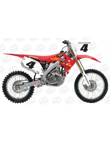 Graphics Kit CR-CRF TEAM RC WDD4 HONDA
