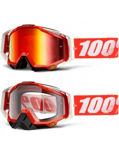 Goggles 100% Racecraft FireRed