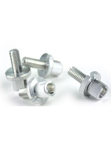 Vite per registro leve diametro 8 mm alluminio