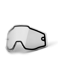 Lens for Goggles 100 % Vented Dual LENT100VENTDUAL 100% Goggle Accessories