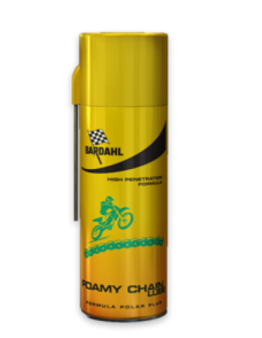 Bardahl foamy chain lube 400ml 601029 Bardahl Grease and Lubes