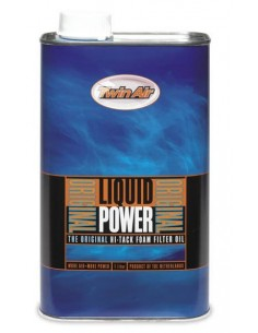 Liquid Power Filter Oil Twin Air 1 Lt 22510 Twin Air Air filter oil and cleaner