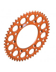 Rear sprocket Renthal Ultralight Ktm orange 224U520OR Renthal Rear Sprockets