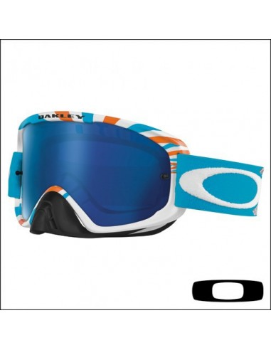 Maschera Oakley O2 RPM Orange Blue / Ice Iridium