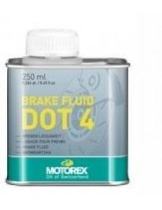 Liquido freni Motorex brake fluid DOT 4