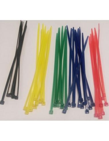 Fascette di cablaggio colorate 10pz