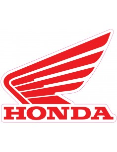Decal Logoo Honda Wing 3 pz