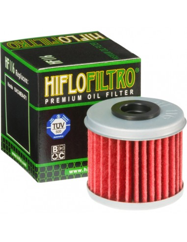 Engine oil filter HIFLO HF116 HiFlo Oil Filters