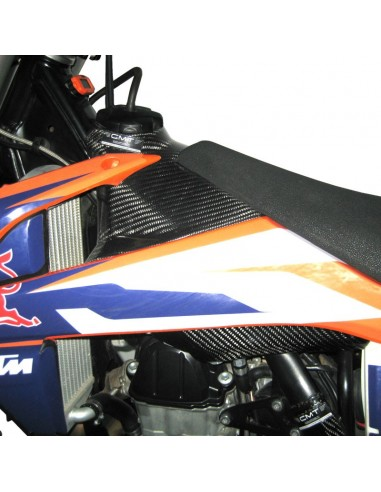 Cover serbatoio superiore CMT in carbonio KTM COVERSERBSUPKCMT CMT Pieces-carbone