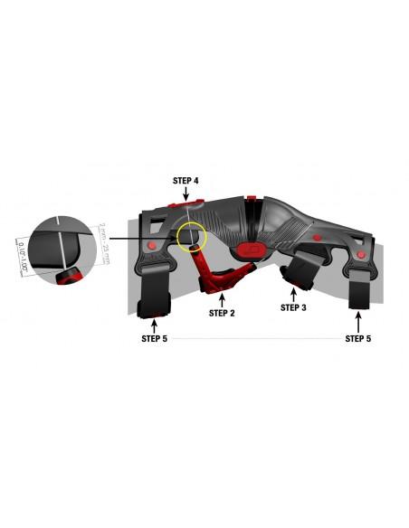 Knee Brace Mobius X8 Storm Grey 101030 Mobius Kneebraces