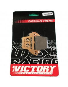 Brake pads WDracing VictoryMX rear WDMXS346R WDracing-Victory Bremsbeläge and brake caliper