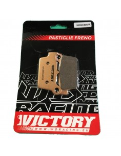 Brake pads WDracing VictoryMX rear WDMXS367R WDracing-Victory Plaquettes de frein and brake caliper