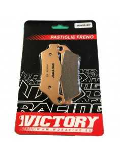 Brake pads WDracing VictoryMX front WDMXS181F WDracing-Victory Plaquettes de frein and brake caliper