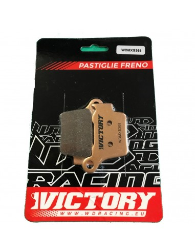 Brake pads WDracing VictoryMX PASTVICTORY WDracing-Victory Plaquettes de frein and brake caliper