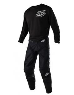 Gear Set TLD Troy Lee Design GP 2020 Mono Black 20748720+30748720 Troy lee Designs Tenues cross