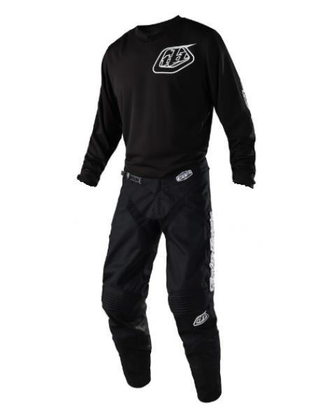 Gear Set TLD Troy Lee Design GP 2020 Mono Black 20748720+30748720 Troy lee Designs Motocross Kombi
