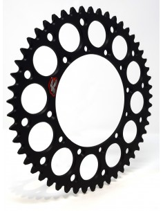Renthal black rear sprocket -Kawasaki 112U520BK Renthal Rear Sprockets