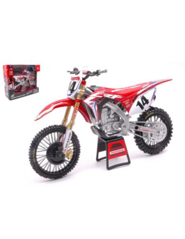 Bike Model Die Cast Honda CRF 450 Team Cole Seele 1:6 49603 NewRay Modellini Moto