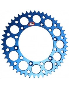 Rear sprocket Renthal Ultralight Yamaha bluee 150U520BU Renthal Rear Sprockets