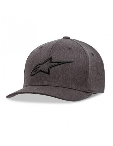Kid's Curve Hat Alpinestars Ageless Charcoal 3038-81100-1910-OS Alpinestars Streetwear mx kinder