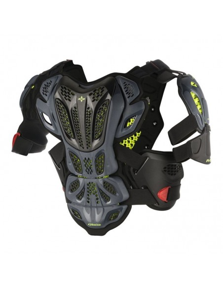 Full Chest Protector A-10 Alpinestars Black-Anthracite 67005171431 Alpinestars Pare-pierre