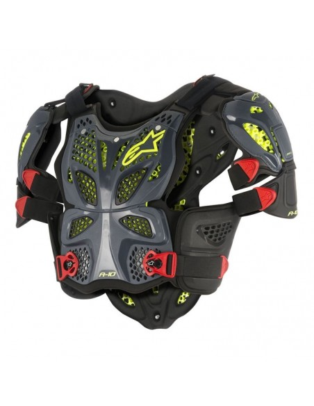 Full Chest Protector A-10 Alpinestars Black-Anthracite 67005171431 Alpinestars Chest guard