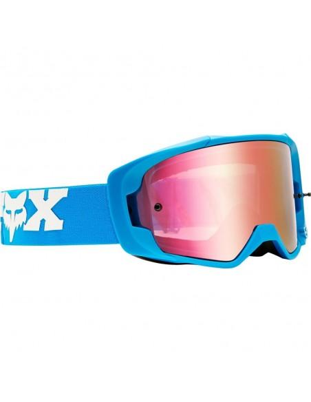 Occhiale Maschera FOX VUE ZEBRA con lente specchiata 22881-559