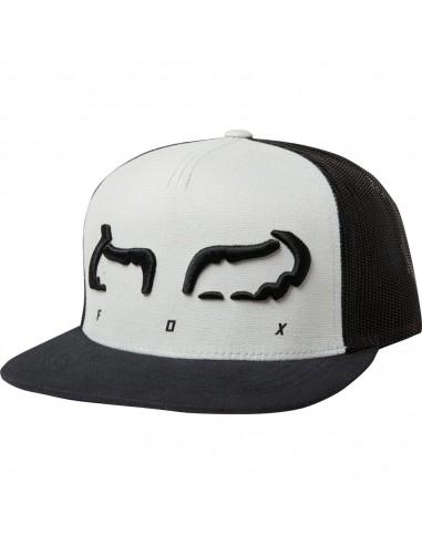 FOX Strap Snapback Hat Grey 22992-172-OS Fox Caps and beanies