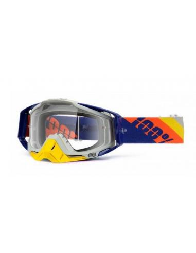 Occhiale I maschera 100% Slant Navy Primer Racecraft 801