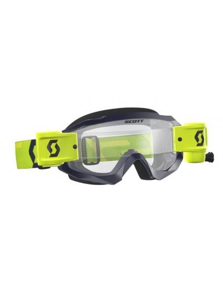 Maschera occhiale Scott Hustle MX WFS blu-giallo 2681841300.113