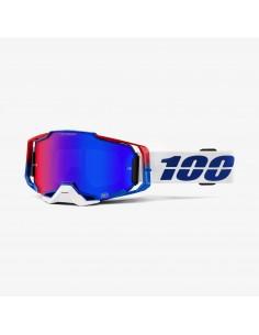 Goggle 100% Armega Genesis Hiper mirror lens 461159 100% Masques cross