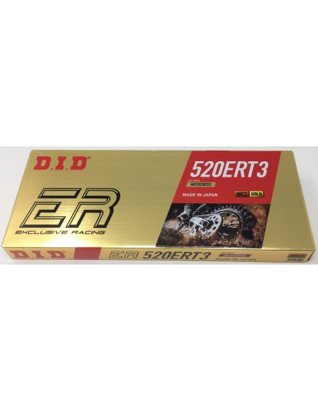 Catena DID ert 3 Gold off road passo 520 401503120