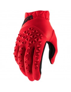 Gloves 100% Airmatic red/black GUAIRRDBK 100% Gloves