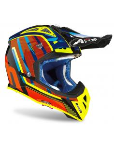 Helmet Airoh Aviator 2.3 AMS 2 Glow Chrome Orange AV23GL32 Airoh Helmets