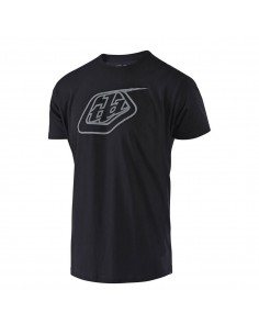 T-Shirt Troy Lee Design Logo Tee Black/Reflective 70120000