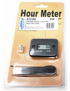 Hour Meter Wired AT2199 Motocross Marketing Hour meter