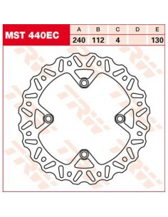 Rear brake disc Husqvarna CR/WR/TC/TE 240mm MST440EC Trw Lucas Brake Disc