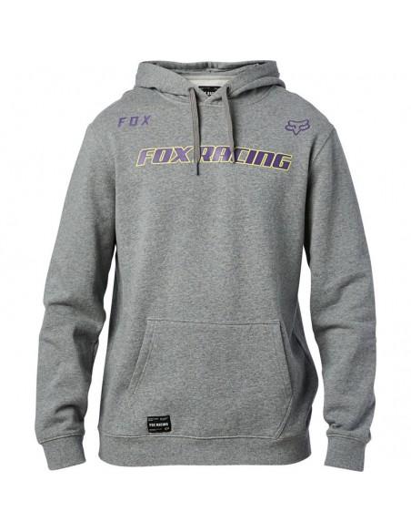 Fox Honr pullover fleece heather graphite 26154-185 Fox hoodies-sweaters-Jacket