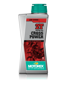 Olio miscela Motorex cross power 2T full synthetic 308092