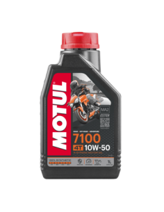 Engine Lubrificant Motul 7100 10w50 104097 Motul Motocross Engine Oil