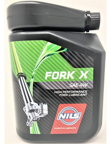 Nils FORK OIL X SAE 4W 1lt 053936 Nils Fork and shock Oils
