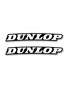 Front fender decal-Dunlop- (2 pcs) ADPARDUNLOP WDracing-Victory Stickers