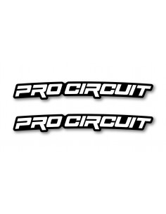 Front fender decal-ProCircuit- (2 pcs) ADPARPROCIRCUIT WDracing-Victory Stickers