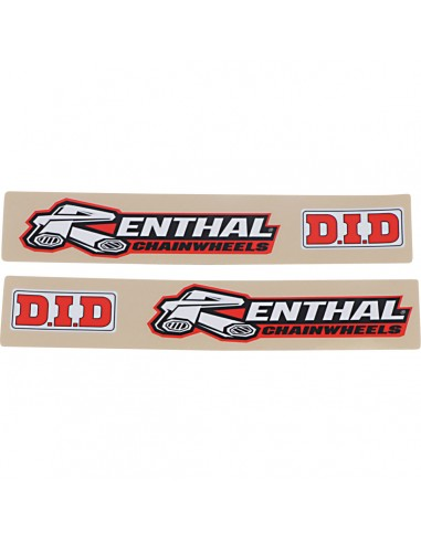 Swing Arm Decals Renthal DID FX042426 Stickers